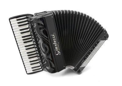 Fisarmonica 16R nera