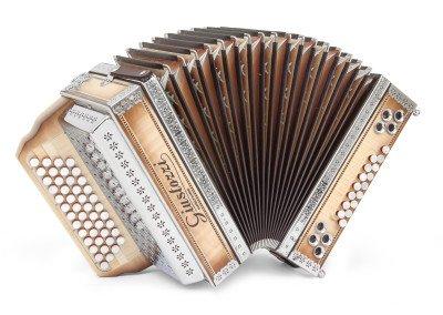 Fisarmonica 755A Acero